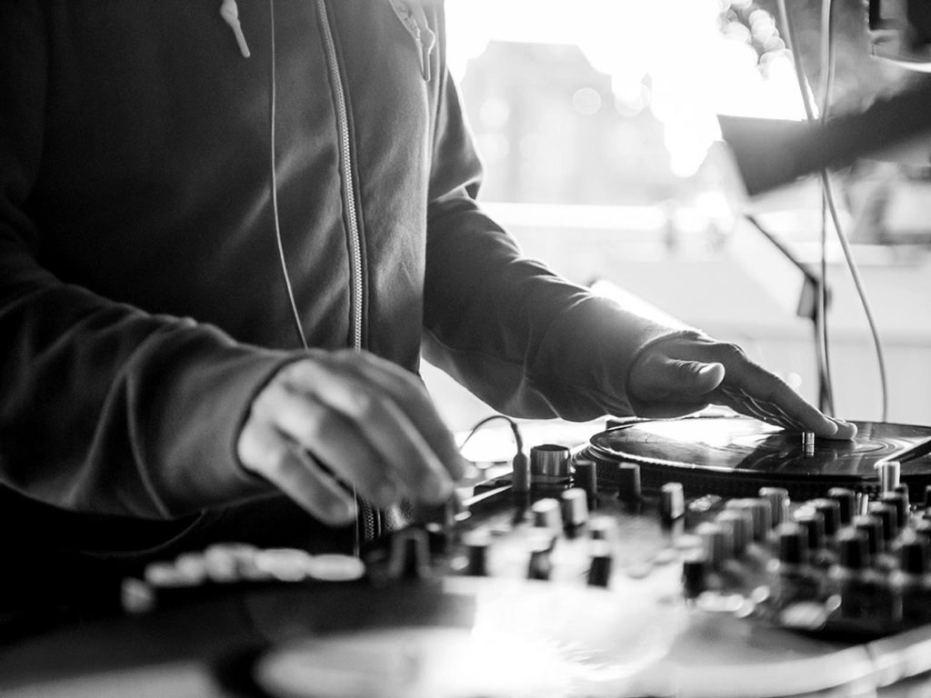 Live DJ sets at The Brentford Project Summer Series events